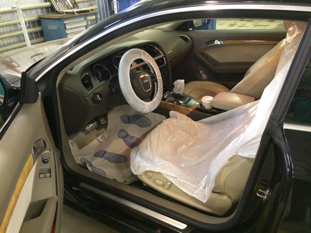Audi A5 перед ремонтом