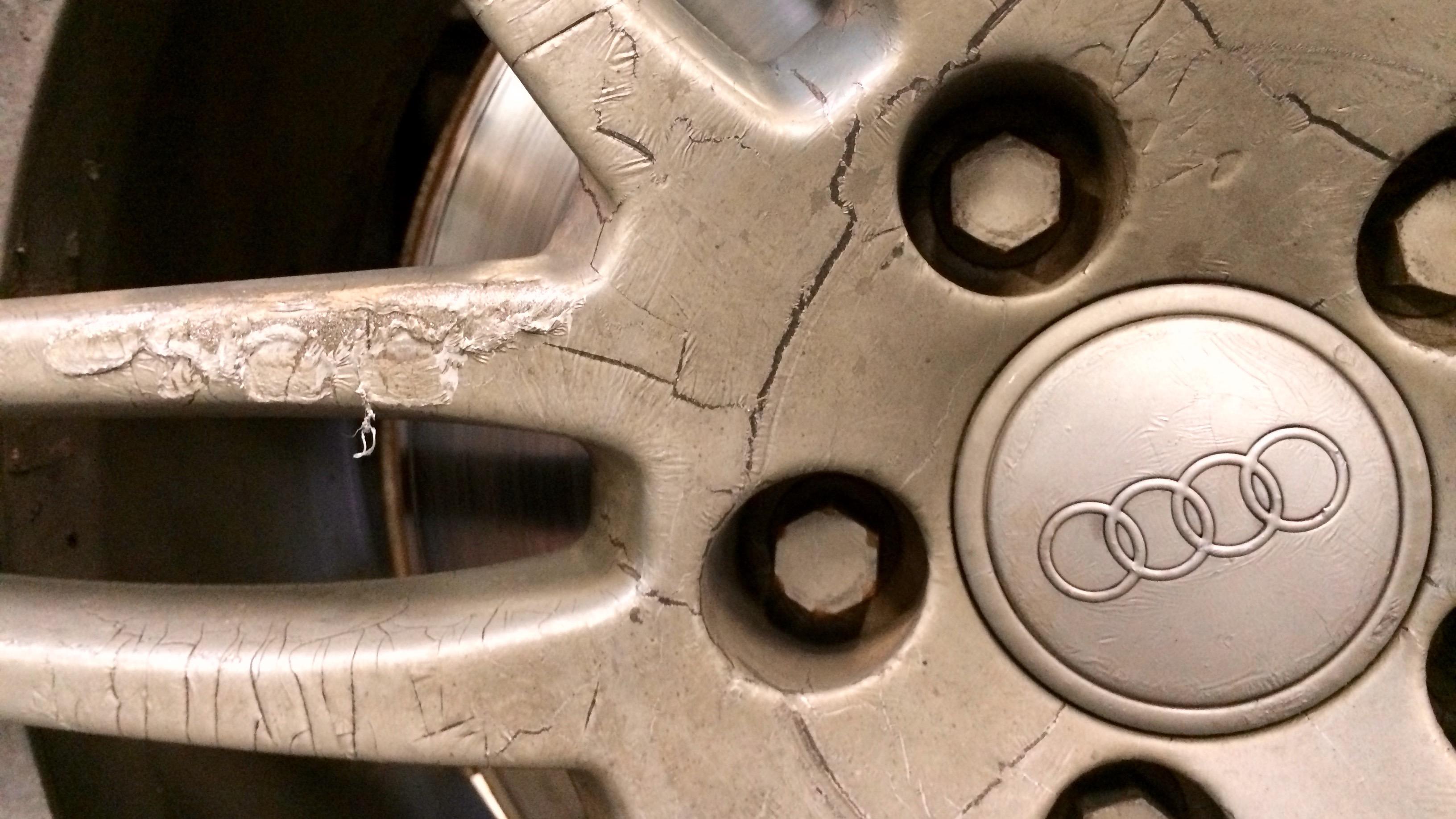 Замена колодок Audi Allroad