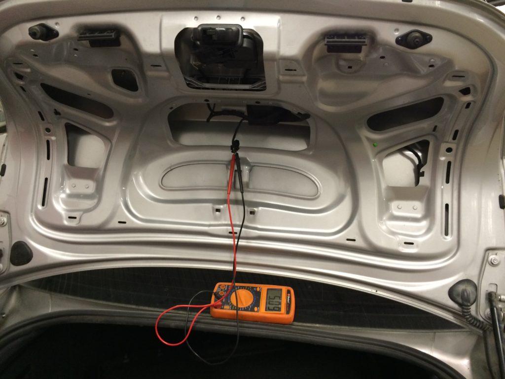 Ремонт замка багажника Audi