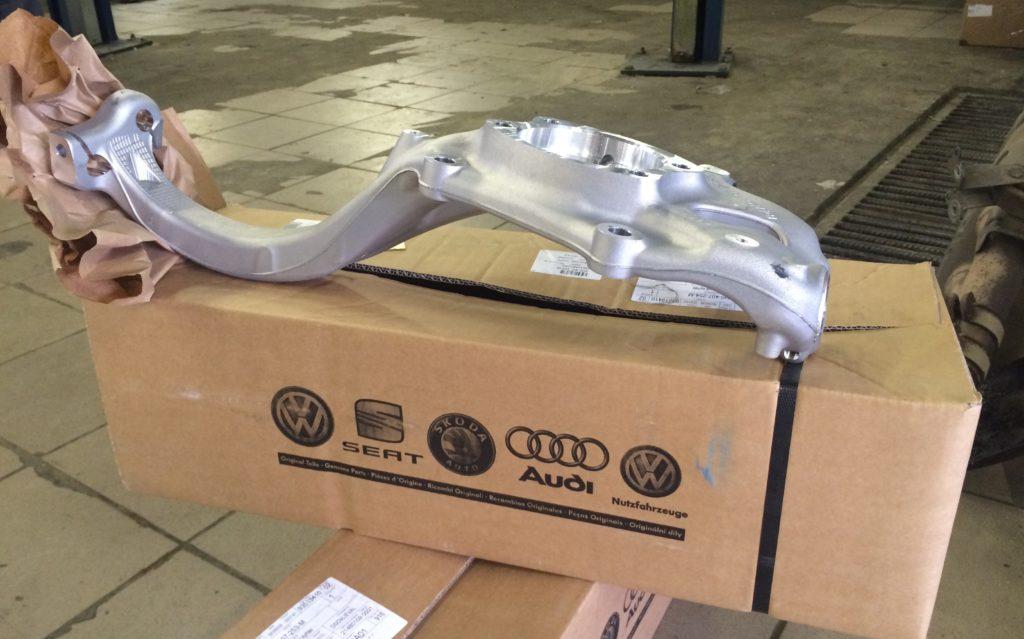 Поворотный кулак Audi A8