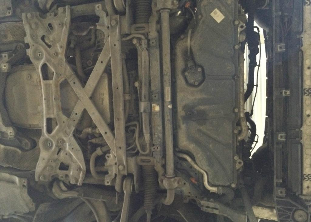 Замена цепи ГРМ Audi A8