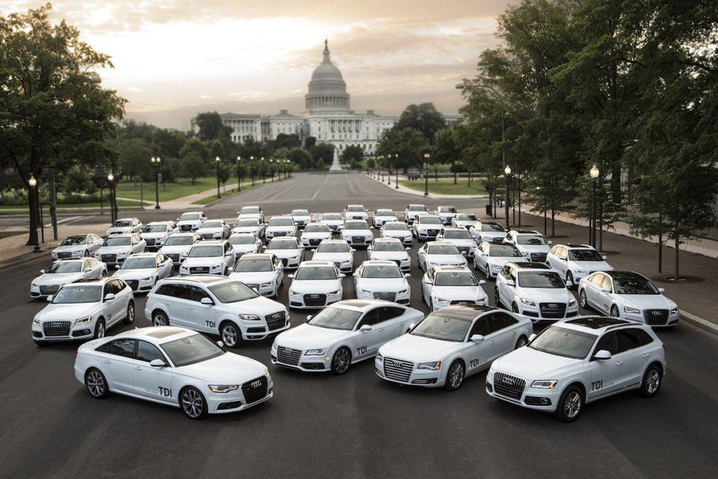 Автомобили Audi с двигателями TDI