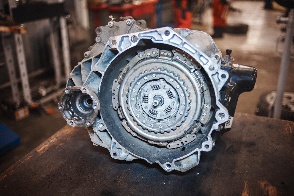 Механическая коробка передач Audi DSG