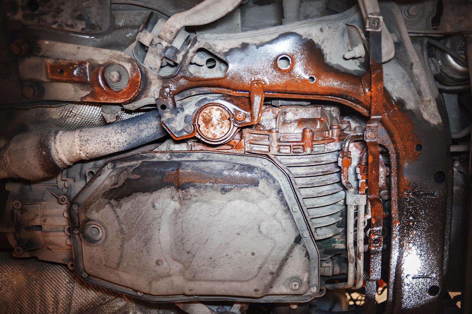 Течь антифриза Audi A4