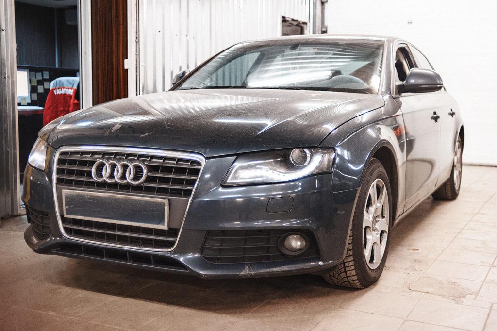 Audi A4 готова к выдаче
