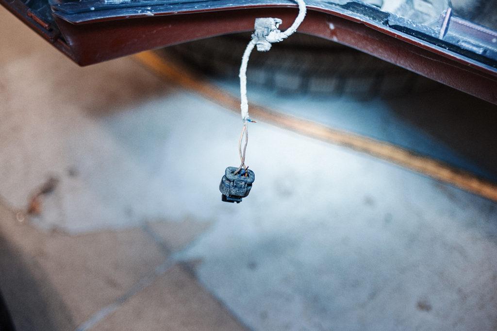 Разъём парковочного датчика Audi A4
