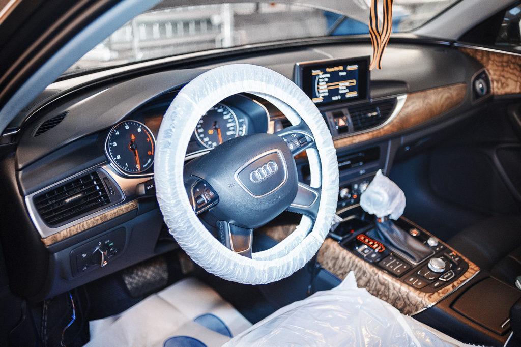 Чехлы – основа приёмки автомобиля