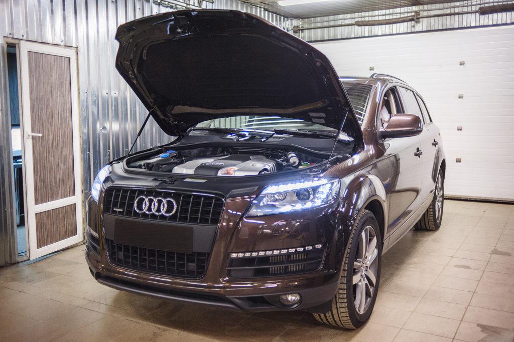Принимаем на техническое обслуживание Audi Q7