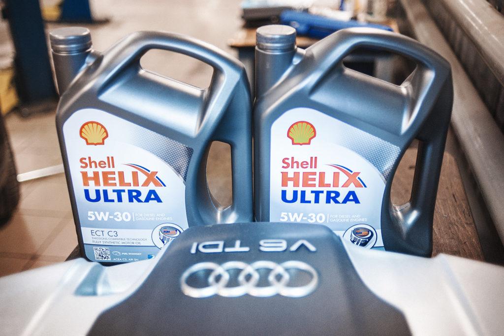 Рекомендованное масло для Audi Q7