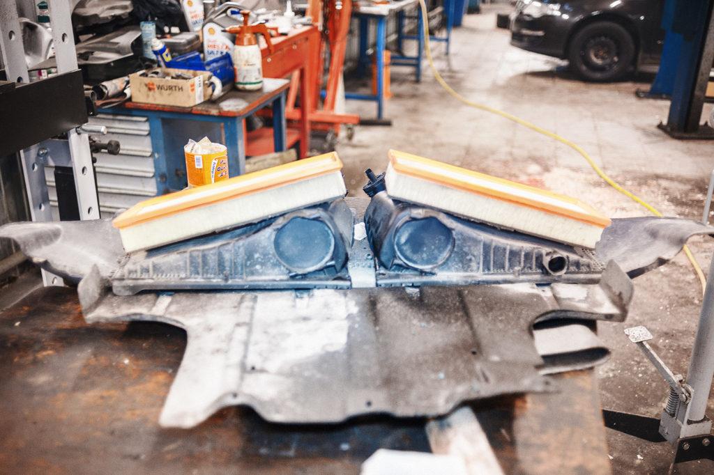 Воздушные фильтры Audi Q7 пока отдыхают в стороне