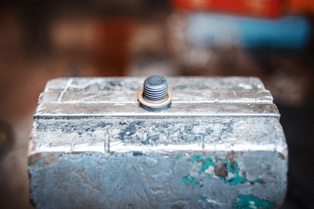 Уплотнительное кольцо сливной пробки поддона ДВС