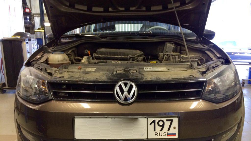 VW Polo с неустойчивыми оборотами