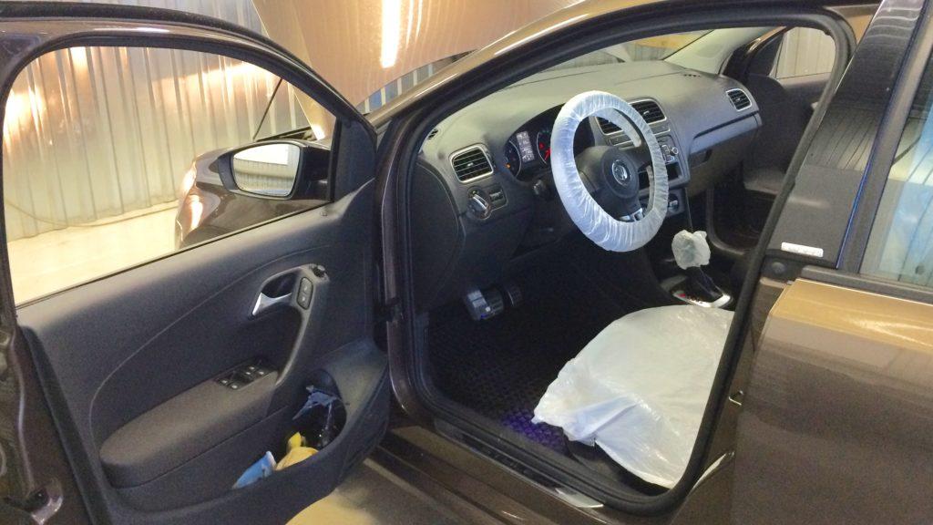 VW Polo в автосервисе VAG×MOTORS