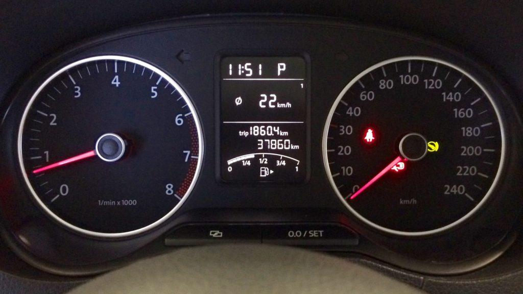 Щиток приборов VW Polo