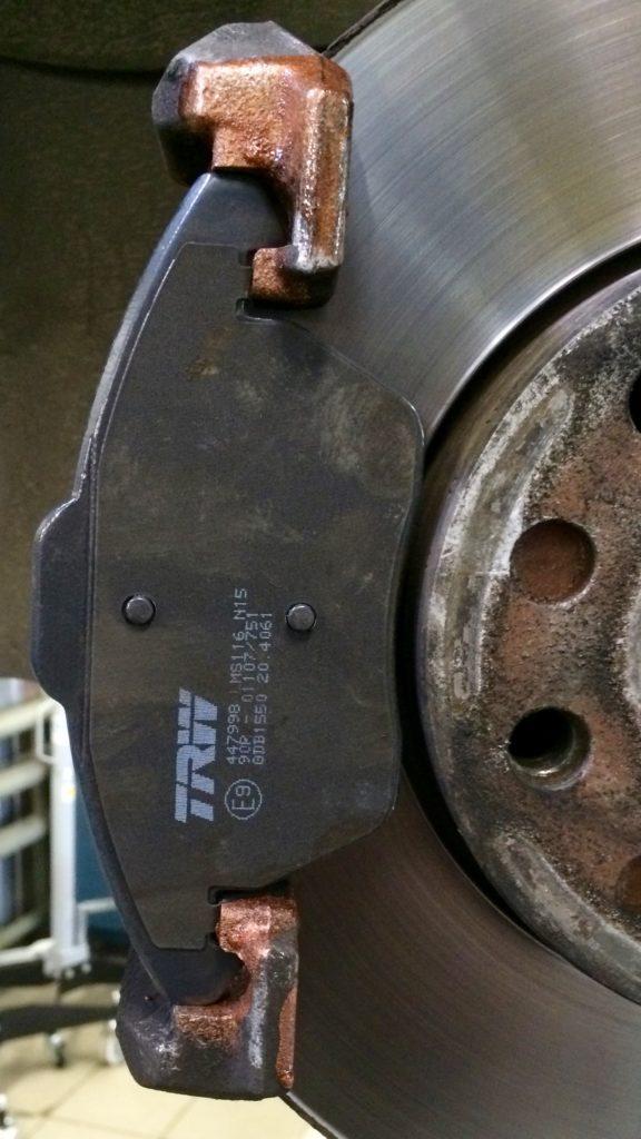 Тормозные колодки TRW GDB1550