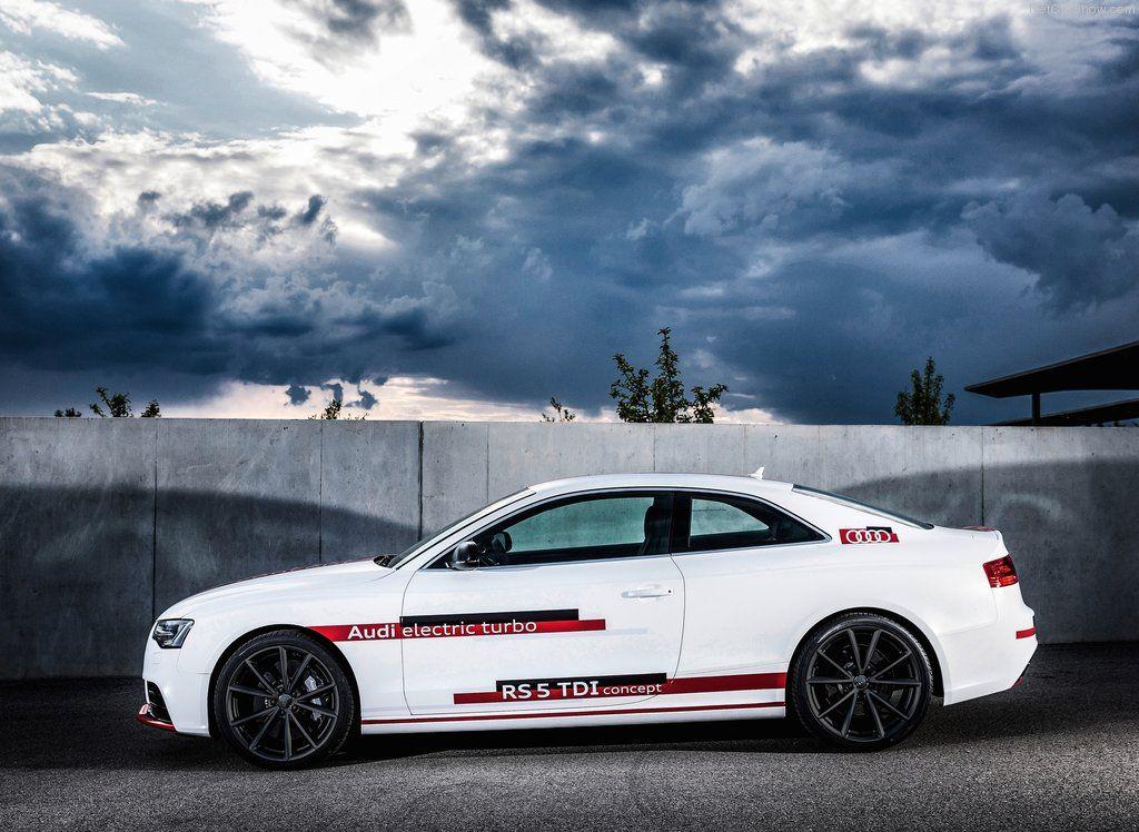 Audi RS5 TDI Competition Concept – самый быстрый дизельный автомобиль