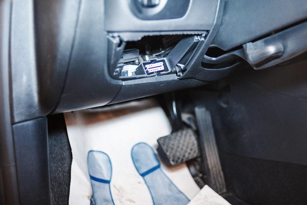 Разъём диагностики Seat Leon