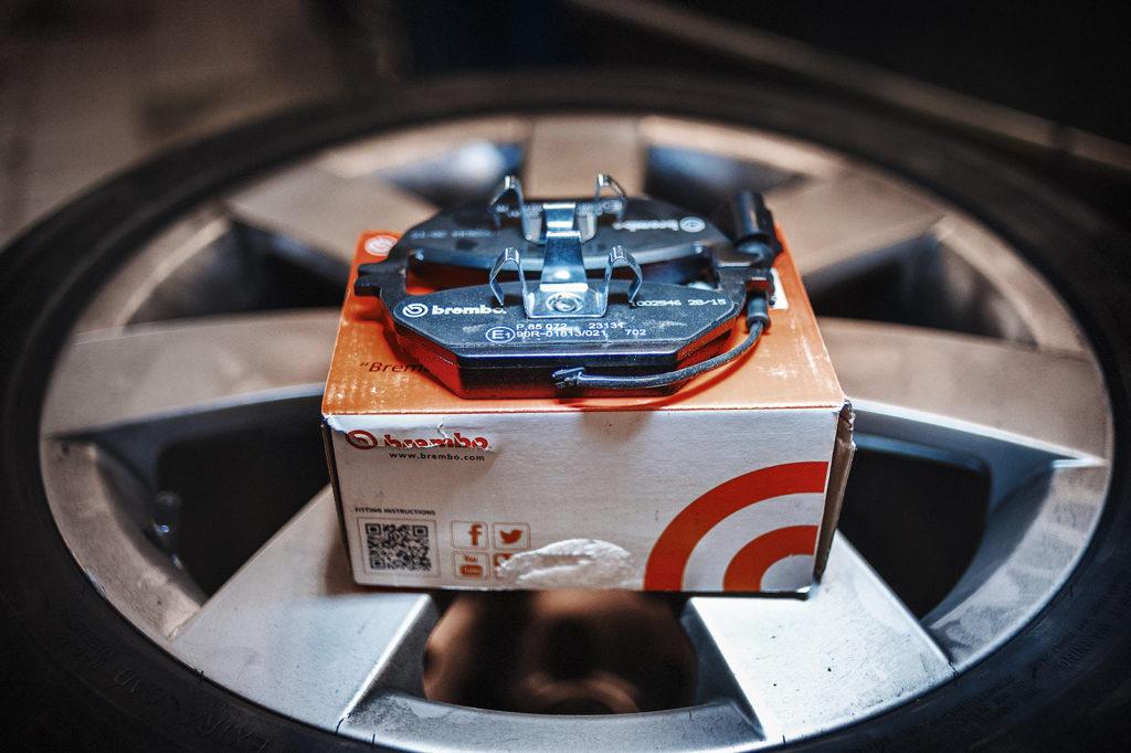 Новый комплект передних тормозных колодок Skoda Yeti P85072
