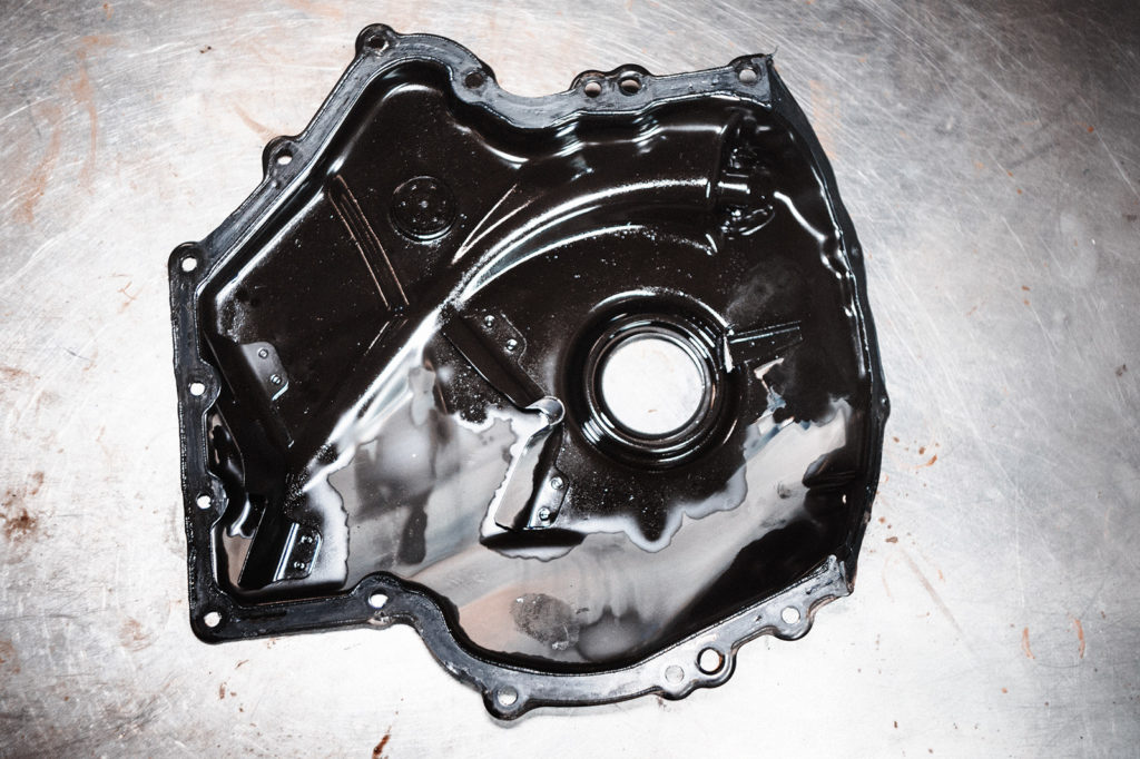 Бонусная крышка двигателя Шкоды Суперб