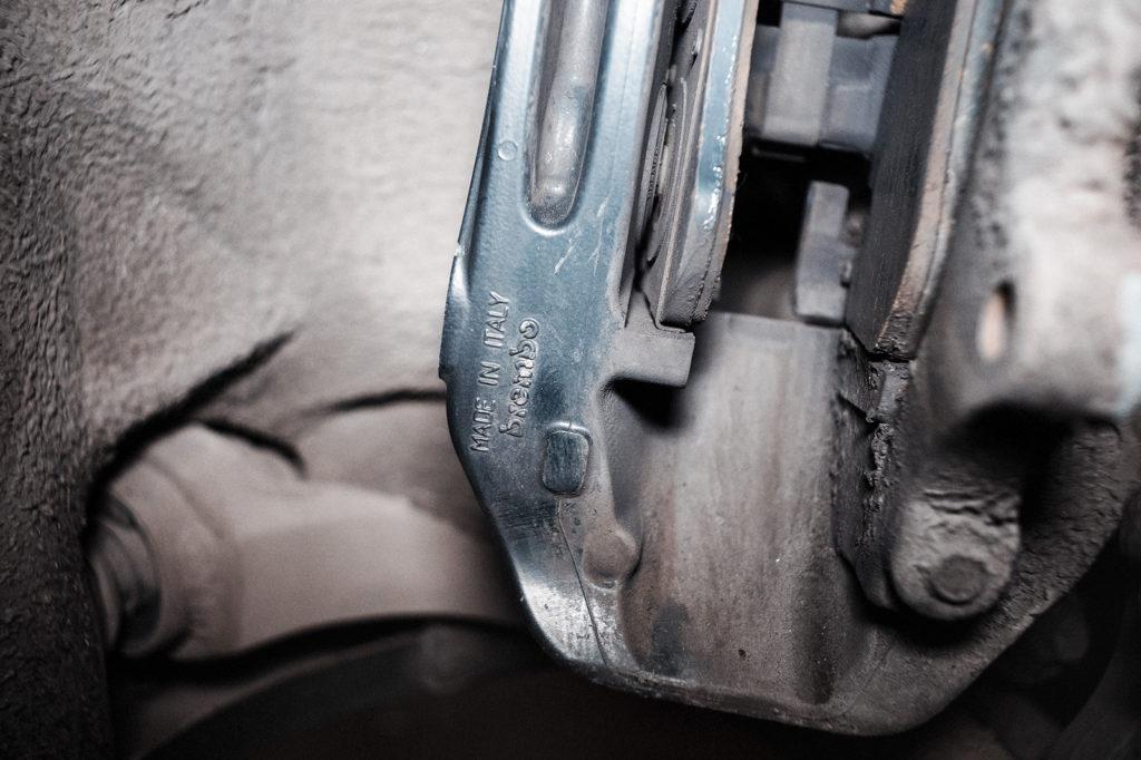 Тормозная система Ауди А8 от фирмы Brembo, сделано в Италии
