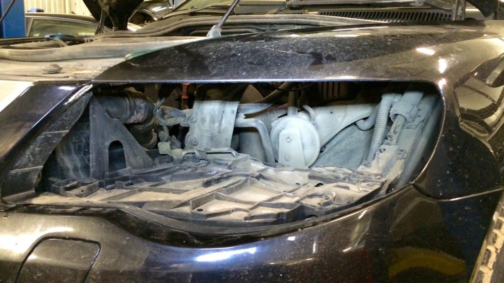 Ремонт звукового сигнала Volkswagen Touareg