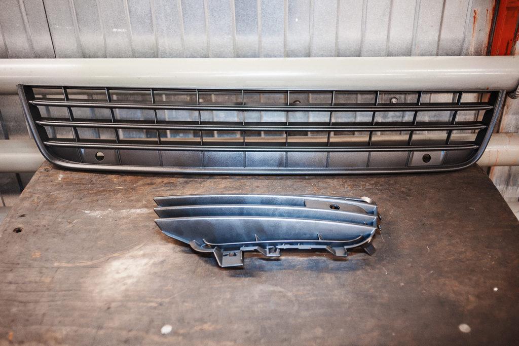 Новые решётки радиаторов Volkswagen Touareg NF