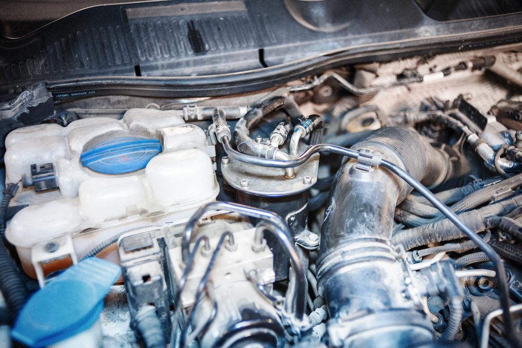 Топливный фильтр Volkswagen Touareg NF 3.0 TDI