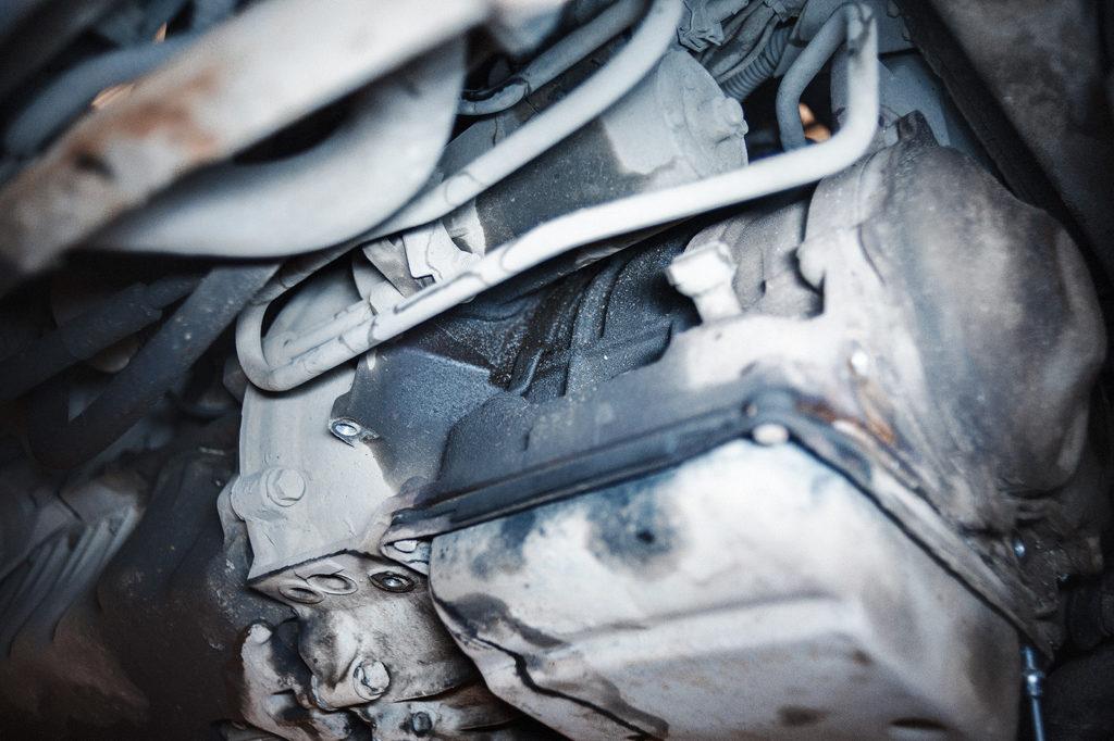 Течь масла АКПП Golf из-под маслоохладителя