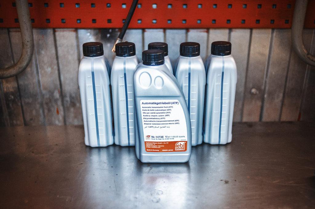 Заправочный объём масла АКПП с небольшим запасом