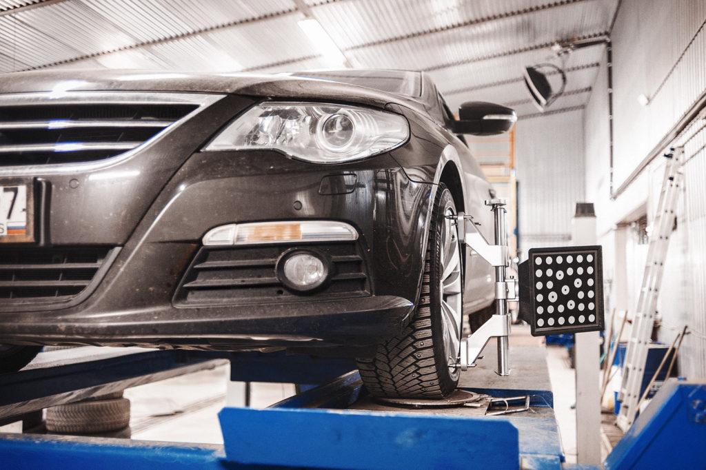 Делаем развал Volkswagen Passat CC