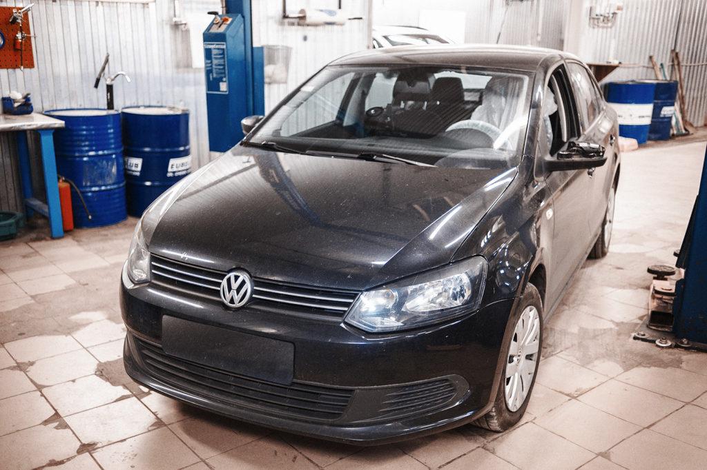 Volkswagen Polo готов к выдаче!