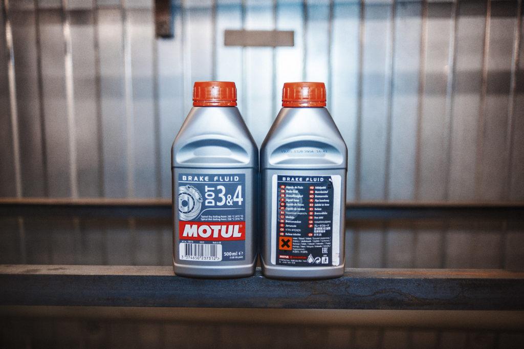 Тормозная жидкость Motul? Почему бы и нет!