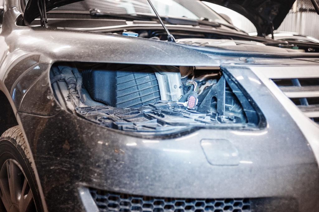 Страшный сон владельца Volkswagen Touareg GP