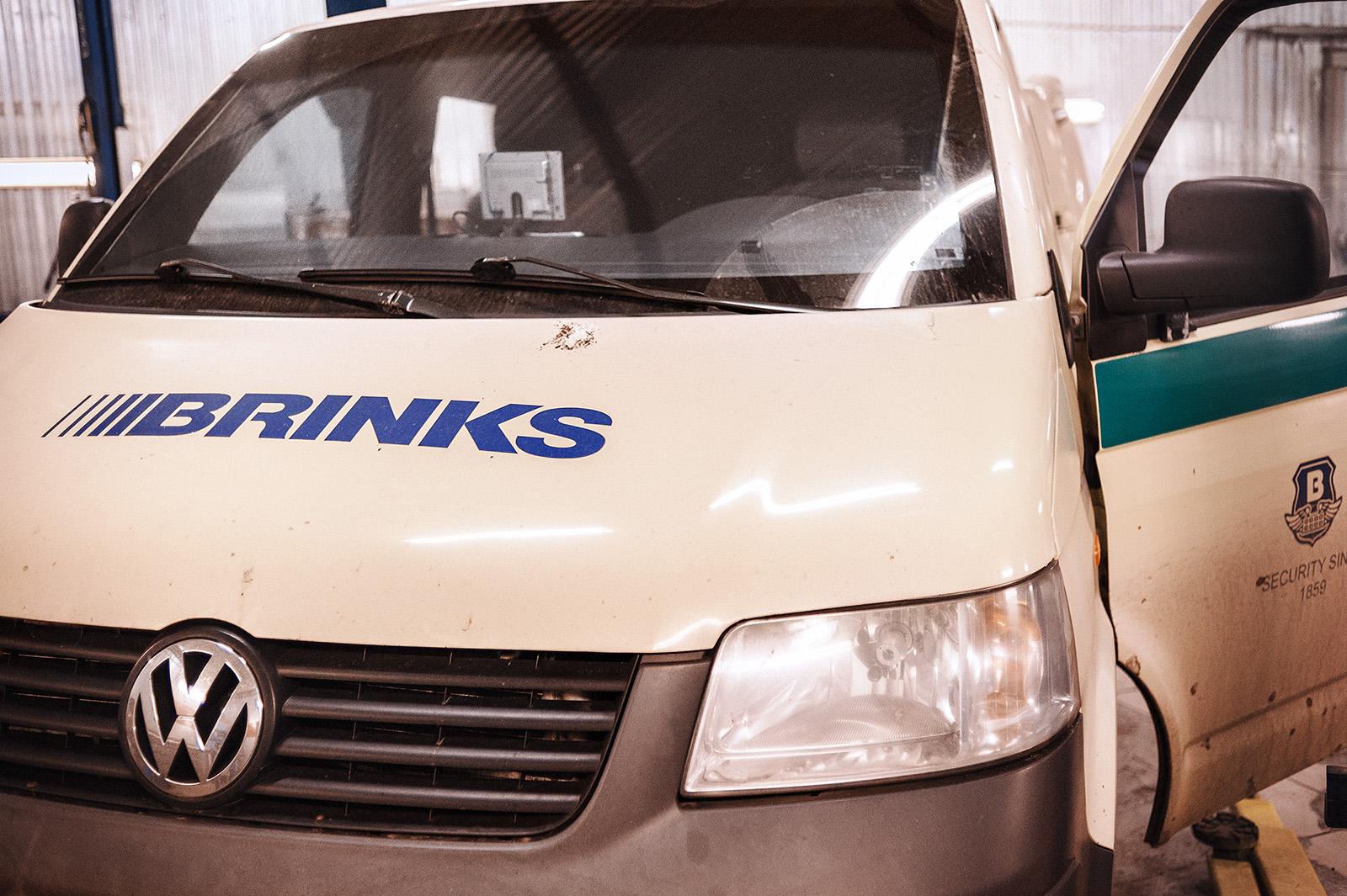 Ремонт Volkswagen Transporter: лечение броневика