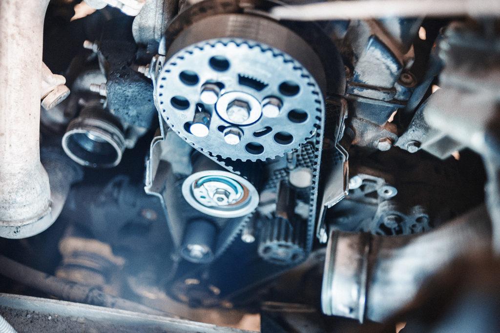 Проверяем правильность установки ремня ГРМ Volkswagen Transporter