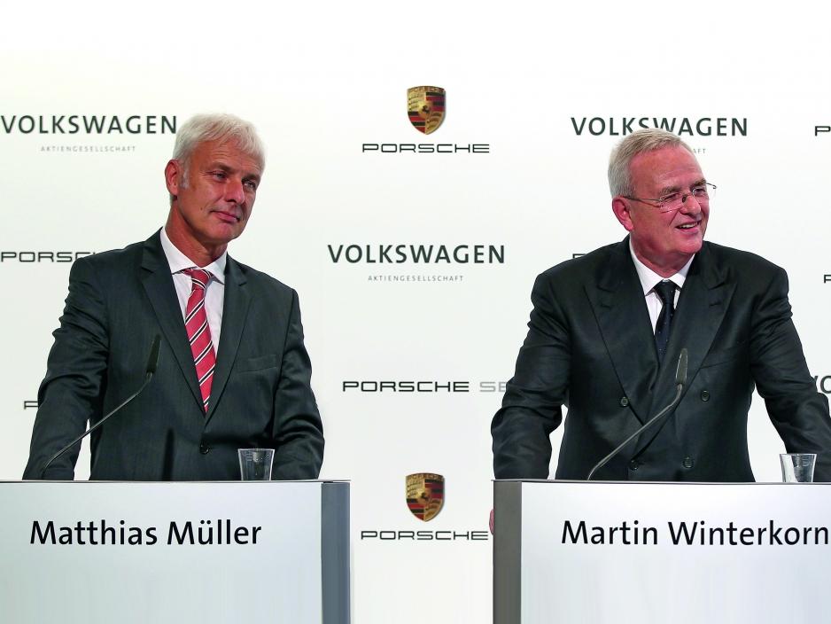 Мартин Винтеркорн и Маттиас Мюллер.