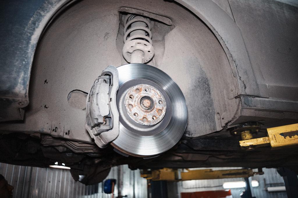 Была обычная замена колёсных дисков Сеат Алтеа